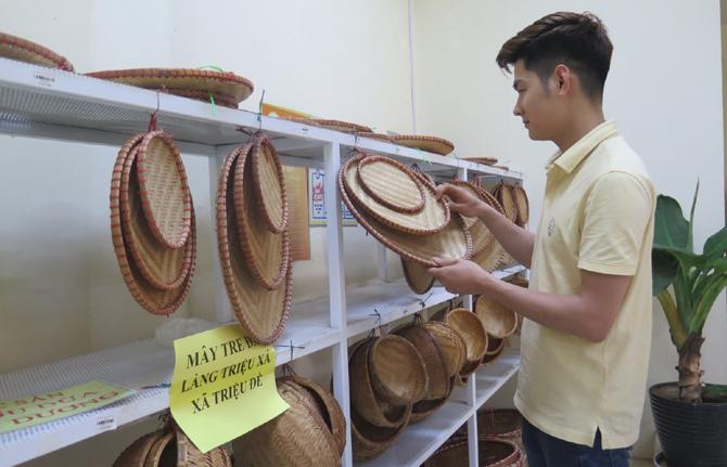 Mở rộng thị trường tiêu thụ cho sản phẩm làng nghề